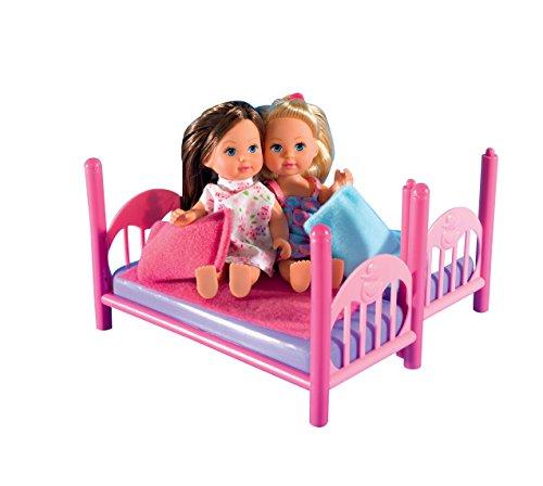 Simba 105733847 - Evi Love Puppen im Stockbett