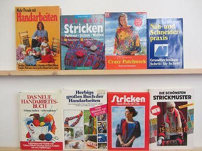 31 Bücher Handarbeiten Nähen Stricken Patchwork Häkeln
