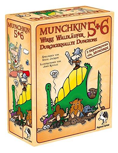Pegasus Spiele 17225G - Munchkin 5+6+6.5