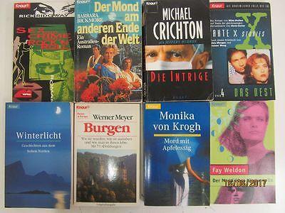 98 Bücher Taschenbücher Knaur Verlag