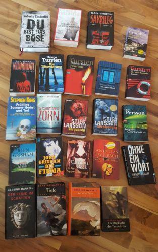 Bücherpaket Krimi Thriller