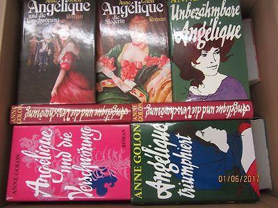36 Bücher Angelique Anne Golon historische Romane Paket enthält doppelte !!