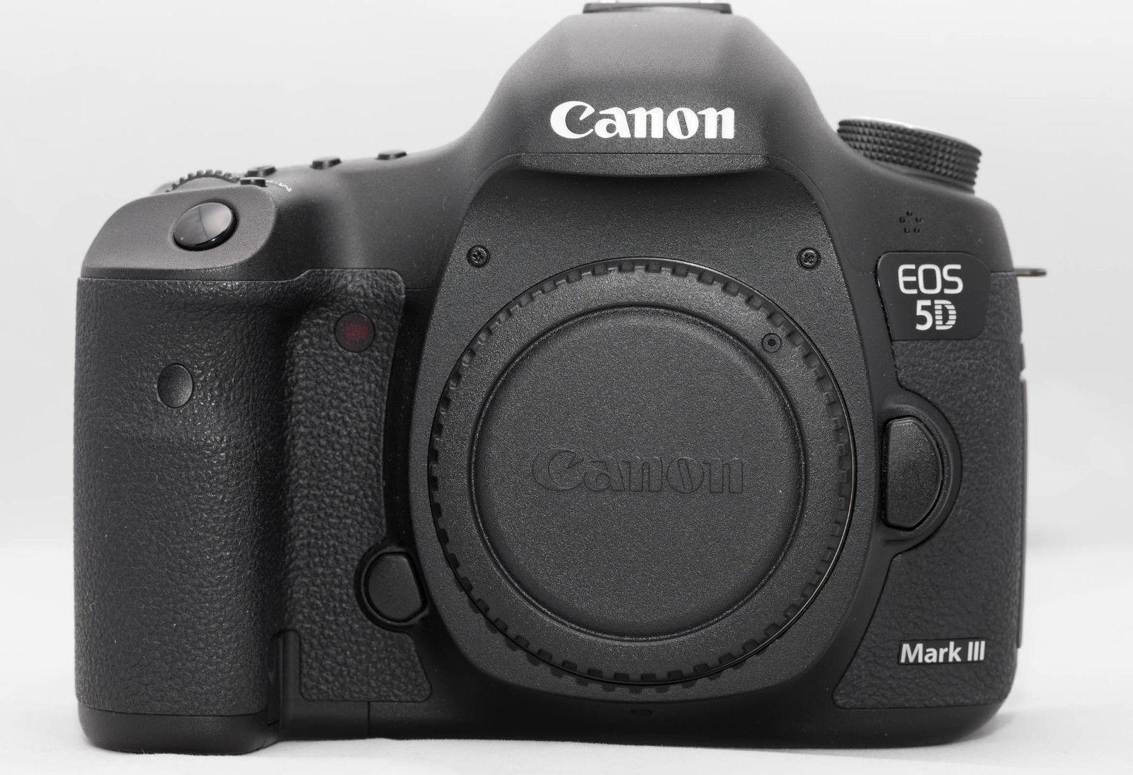 Canon EOS 5D Mark III MK 3 - 22.3 MP DSLR - Shutter Count 15499 - guter Zustand
