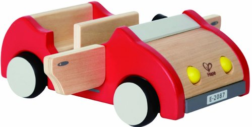 Hape E3475 - Puppenhaus Zubehör Familienauto