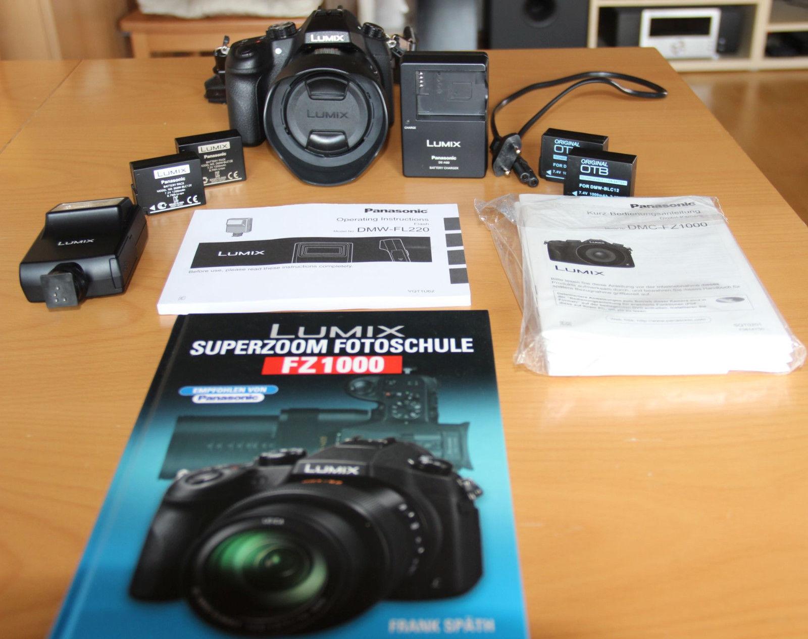 Panasonic LUMIX DMC-FZ1000 Digitalkamera.