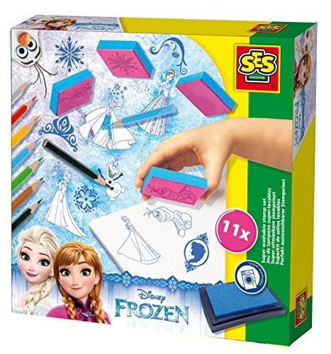 SES creative 14917 - Stempelset Frozen, blau