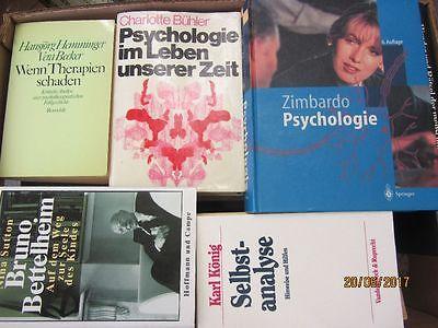 45 Bücher Psychologie Psychotherapie Seelenkunde Paarberatung Diagnose