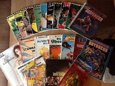 Auflösung einer Sammlung von Romanen/Comics als Buch/Heft -gebraucht Teil 1