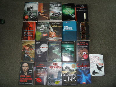Bücherpaket Krimis/Thriller