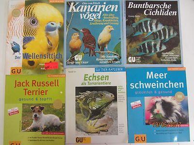 68 Bücher Softcover GU Ratgeber Tiere Tierpflege Vögel Fische u.a. Gräfe+ Unzer