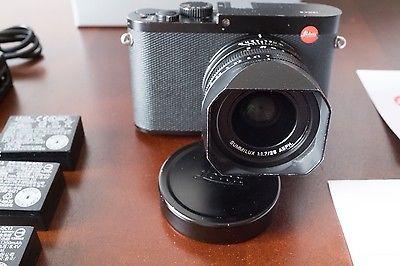 Leica Q Typ 116 26.3MP Digitalkamera - Schwarz