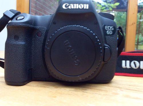 Canon EOS 6D, SLR Digitalkamera,schwarz, nur Gehäuse