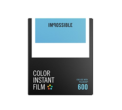Impossible 4514 Color Sofortbildfilm für Polaroid 600 Kameras 8 Aufnahmen