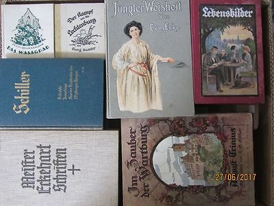 45 Bücher antiquarische Bücher
