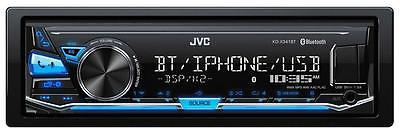 JVC KD-X341BT MP3-Autoradio mit Bluetooth USB iPod AUX-IN