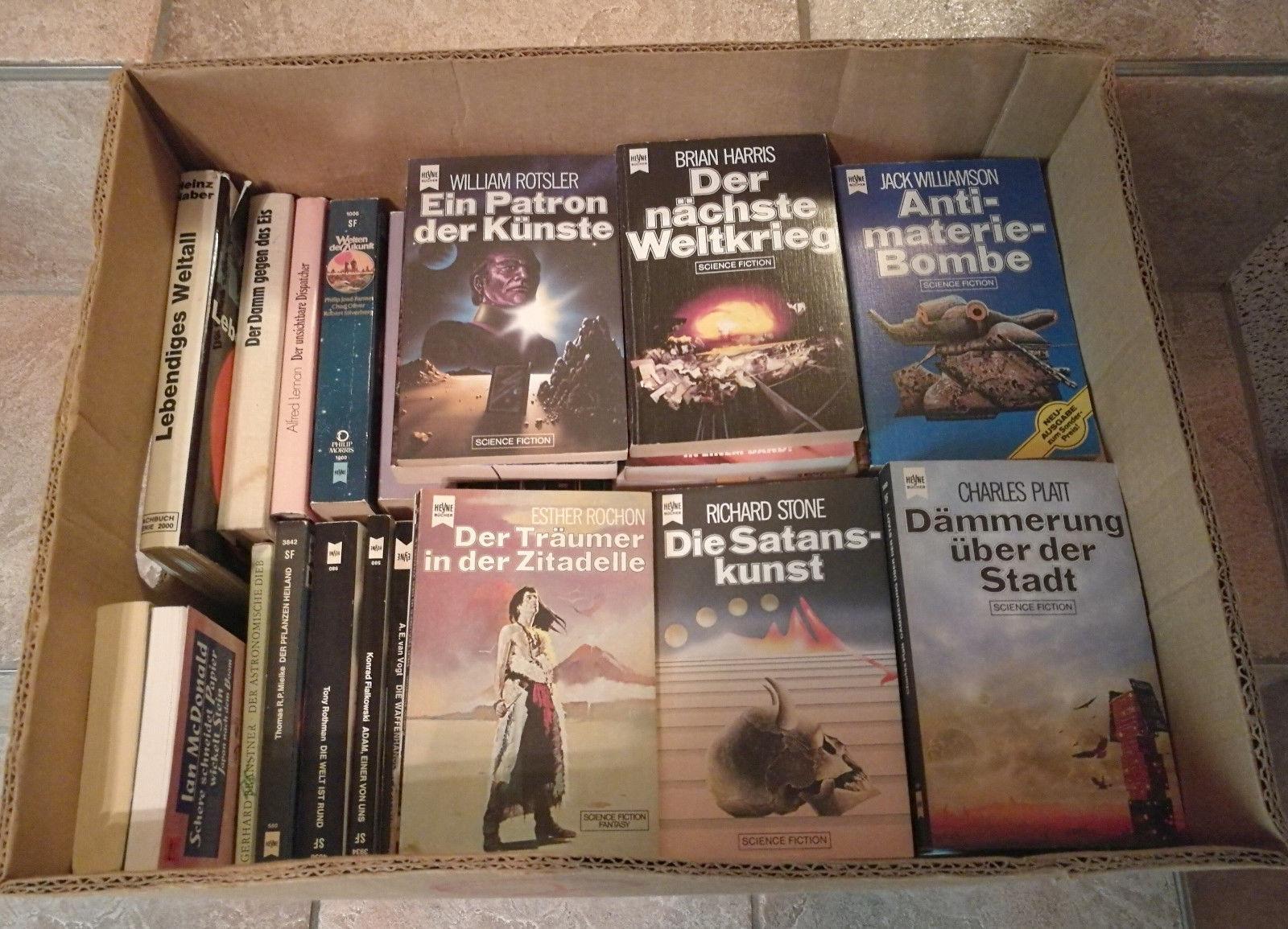 Konvolut Bücherkiste 67 Stück Science Fiction Paket Bücherpaket TB