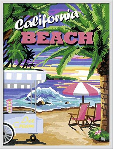 Ravensburger 28887 - California Beach - Malen nach Zahlen, 30 x 40 cm
