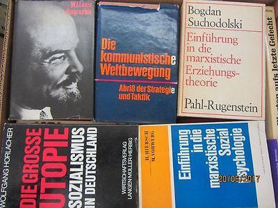 63 Bücher Kommunismus Marxismus Leninismus Sozialismus Lenin Marx