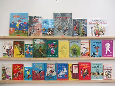 Astrid Lindgren 26 Bücher Kinderbücher Jugendbücher Kinderbuchklassiker