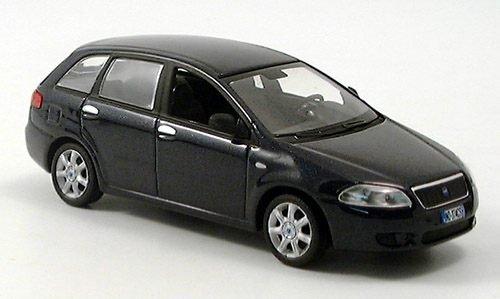 Fiat Croma, dunkelblau, Modellauto, Fertigmodell, Norev 1:43