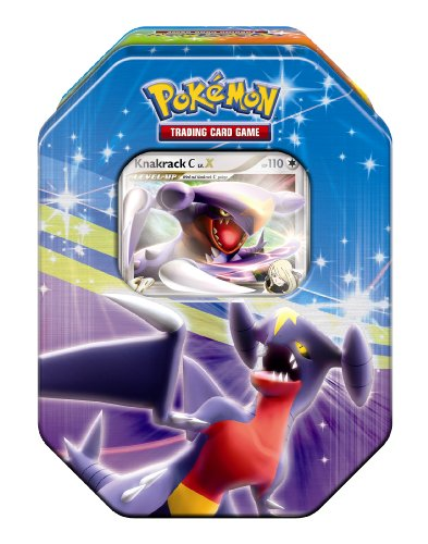 Pokémon Company EX25290 - Pokémon Deck Tin Serie 11: Knackrack [DEUTSCH]