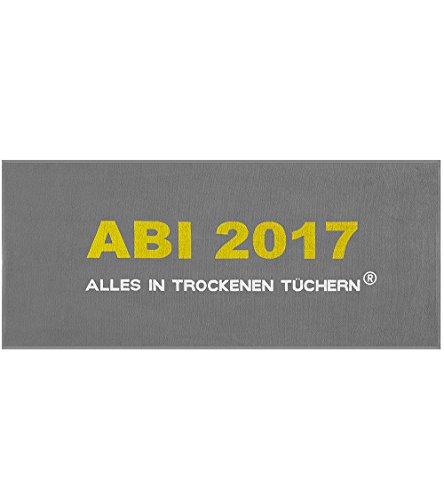 Egeria Handtuch ABI 2017 | 56 grau - 75 x 180 cm