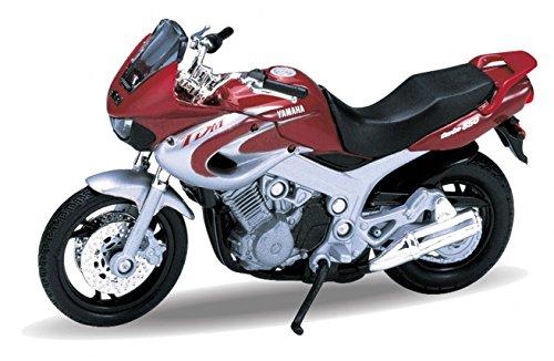 2001 Yamaha TDM850 [Welly 12155], Rot / Silber, 1:18 Die Cast