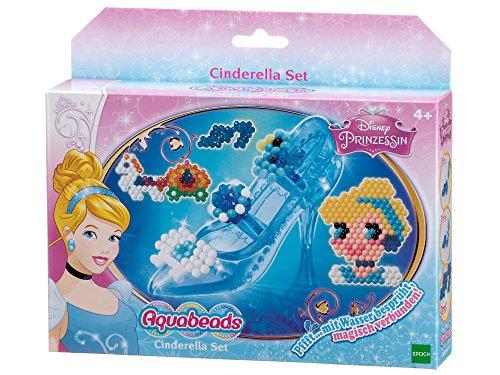 Aquabeads 79778 -  Cinderella Set, Bastelgeschenk für Mädchen
