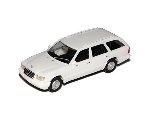 Mercedes-Benz E-Klasse W124 E320 T-Modell Kombi Weiss 1984-1997 H0 1/87 Herpa Modell Auto mit individiuellem Wunschkennzeichen