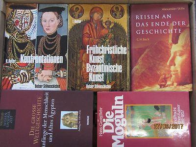 31 Bücher Bildbände Kunst Kultur Geschichte Weltgeschichte