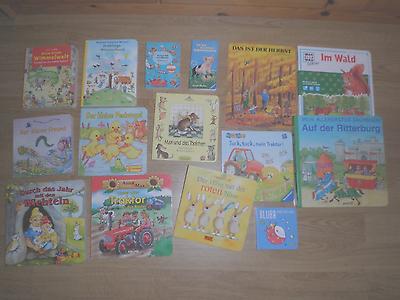 15 Kinderbilderbücher aus stabiler Pappe - SIEHE BILD - Super toll, Wimmelbücher