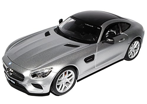 Mercedes-Benz AMG GT S Coupe Silber Ab 2014 1/18 Maisto Modell Auto