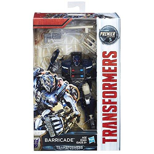Hasbro Transformers C1321ES0 - Movie 5 Premier Deluxe Barricade, Actionfigur