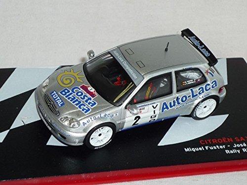 Citroen Saxo Kit Car 2003 Miguel Fuster Jose Vicente Medina Rally Rias Baixas 2003 Rally 1/43 Altaya By ixo Modellauto Modell Auto SondeRangebot