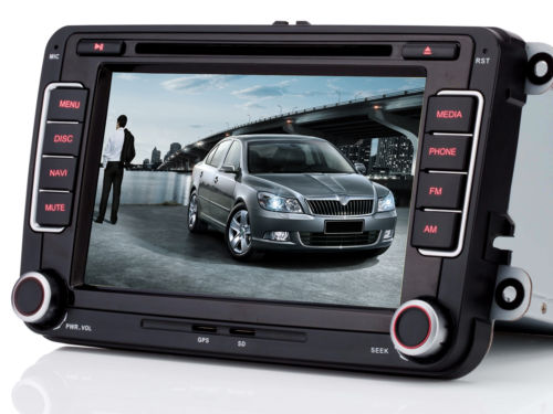 Für VW Golf 5 Passat Jetta Fabia,Octavia,Yeti Autoradio GPS Navi DVD USB MP3 CD