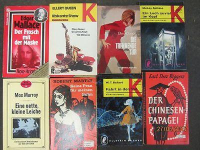 117 ältere Kriminalromane Krimi Detektivromane Spionageromane Thriller