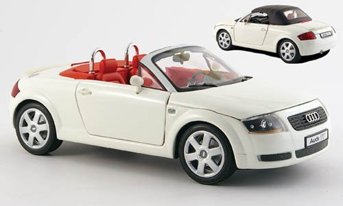 Audi TT Roadster, weiss, inklusive Soft-Top, Modellauto, Fertigmodell, Revell 1:18