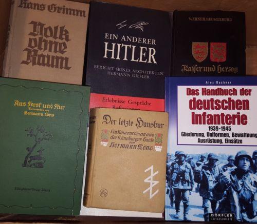 Bücherpaket!! 1.und 2. Weltkrieg, 60 Stück, Sammlung,Deutsches Reich,Krieg 30KG