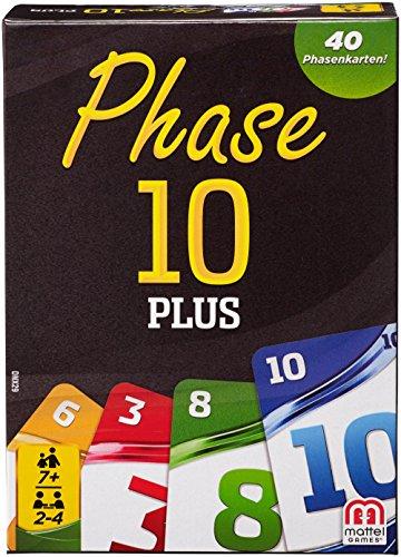 Mattel Spiele DNX29 - Kartenspiele, Phase 10 Plus