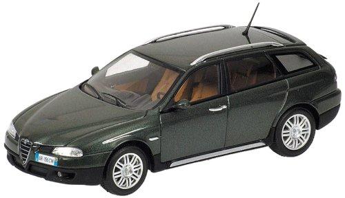 Minichamps 400120411 - Alfa Romeo 156 Crosswagon, Maßstab: 1:43, metallic grün