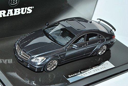 Defektes Modell Mercedes-Benz CLS Brabus Rocket Grau 800 2012 C218 1/43 Minichamps Modell Auto