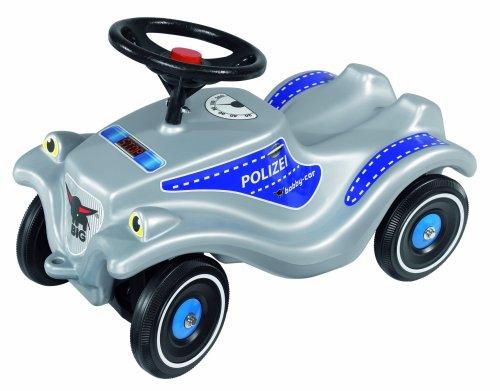 BIG 56010 - Bobby-Car Police, Bobby-Car Polizeiauto, silber