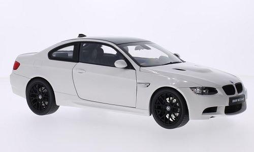 BMW M3 (E92M), weiss/carbon, Modellauto, Fertigmodell, Kyosho 1:18