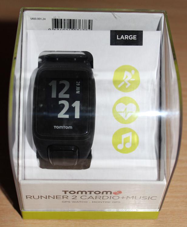 tomtom runner 2 cardio music 3GB GPS Multi Sport OVP