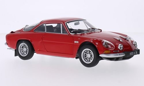 Alpine Renault A110 1600S, rot, 1972, Modellauto, Fertigmodell, Kyosho 1:18