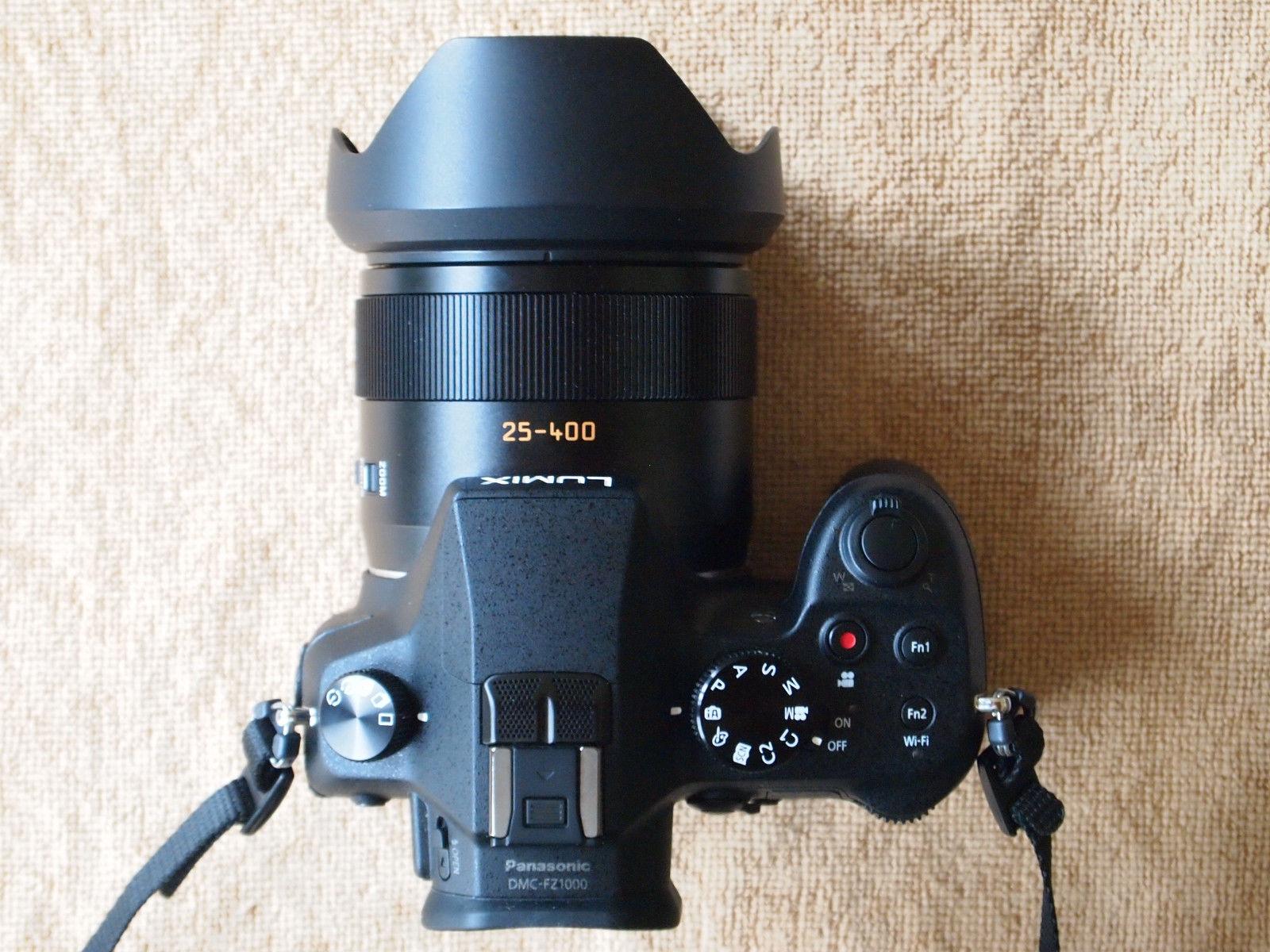 Panasonic LUMIX DMC-FZ1000 20.1 MP Digitalkamera - Schwarz, Leica 25-400 Zoom