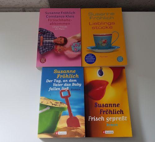 *** lesestoff susanne fröhlich - 4 frauenromane, bücherpaket, witzig***