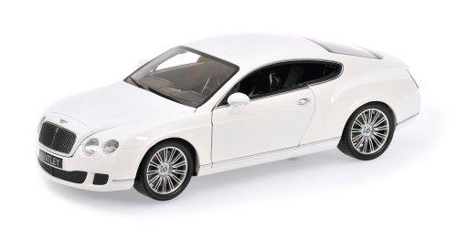 Minichamps 100139621 - Bentley Continental GT, Maßstab: 1:18, weiß