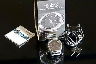 Garmin Fenix 3 Sapphire Edition mit METALLARMBAND & PATINA (reichlich!) ab € 1,-