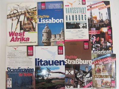 47 Bücher Reiseführer Reise Know How nationale und internationale Reiseführer